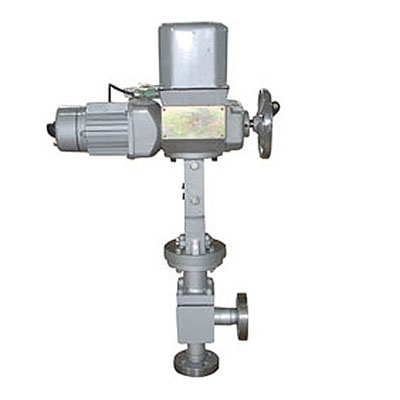 ZAZS electric angle type high pressure regulating valve, Class 150-1500 LB