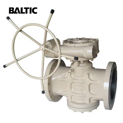 ASTM A216 WCB Pressure Balanced Lubricated Plug Valve, 12IN, 300LB