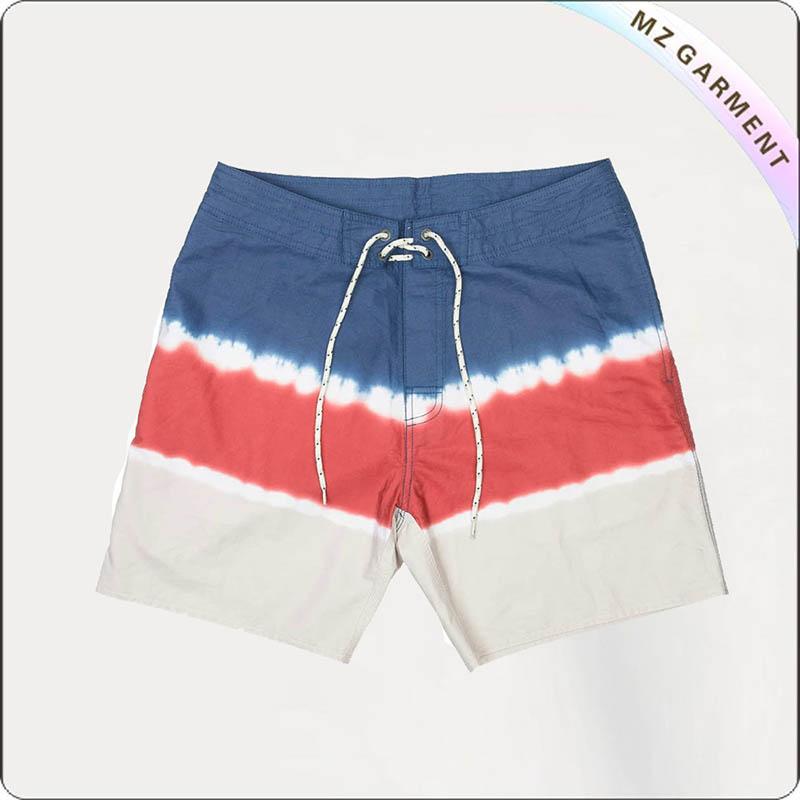 Men Back Pocket Beach Short Pants
