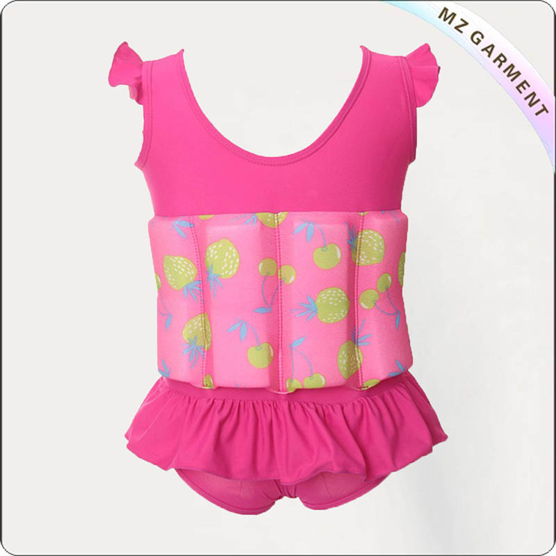 Toddler Candy Pink Float Swimwear