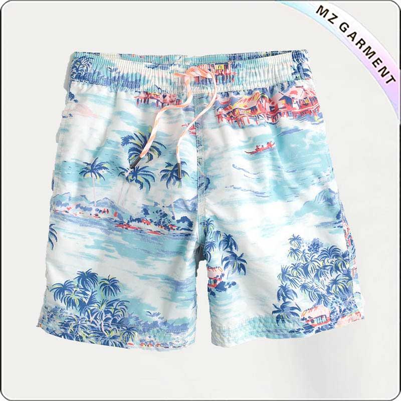 Boys Scenery Beach Short Pants