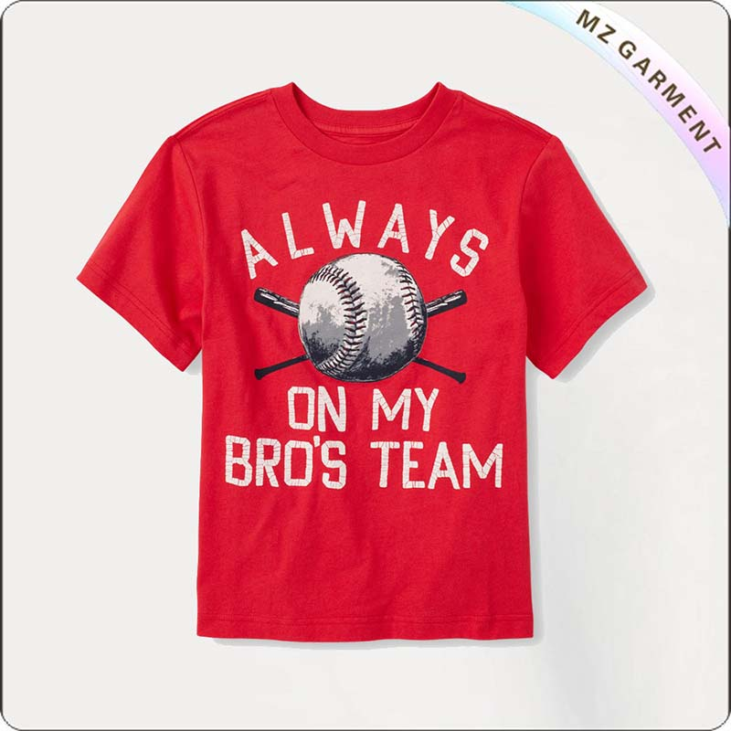 Kids Baseball Ruby T-Shirt