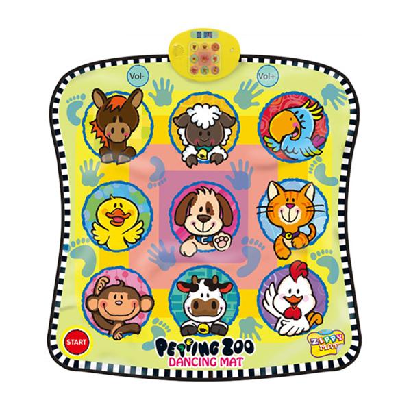 Electronic Animal Play Mat, Musical Playmat