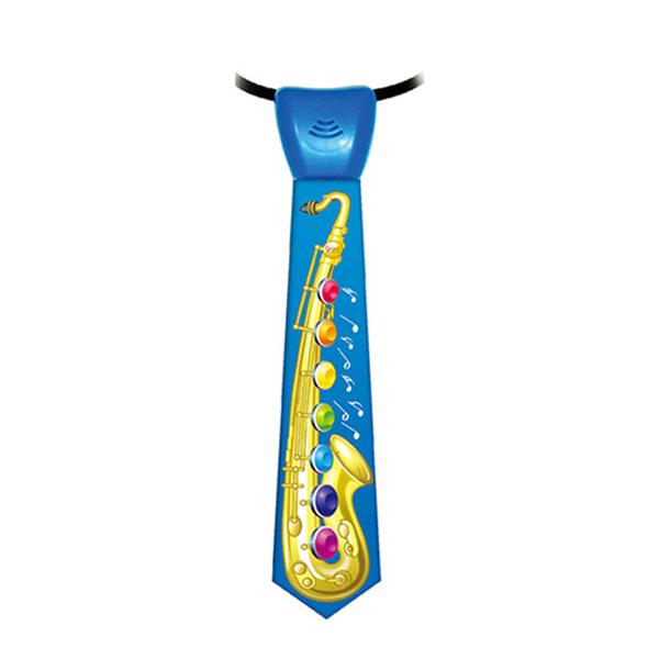 Musical Neck Tie-Saxophone