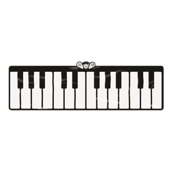 Giant Aurora Keyboard Mat, 5 Modes Selection, Light up Keys