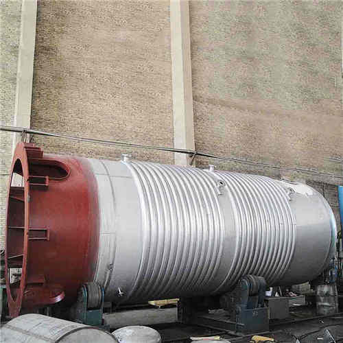 SS 316L Fermentation Tank, ASME, 3500 X 13500mm, 100 m3, 0.3 MPa