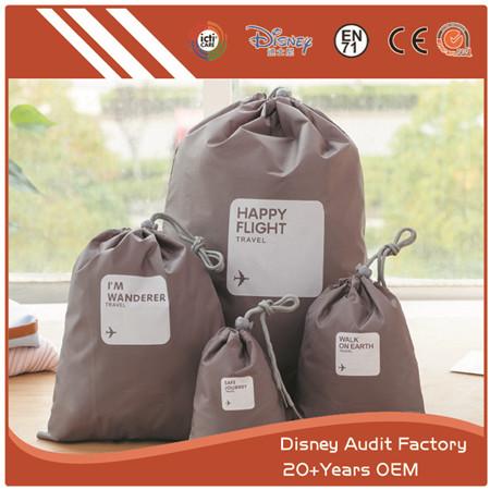 Drawstring Bag, Canvas, Environment-friendly, Custom Design