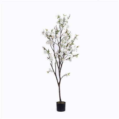 Plastic Apple Blossom Branches