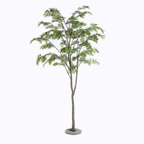 Plastic Maple Tree