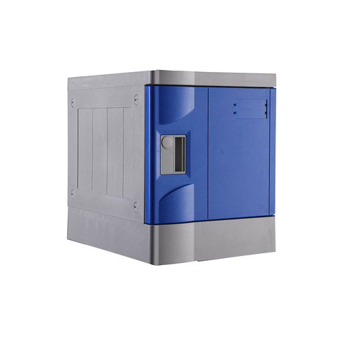 ABS Plastic Locker T-320E-50: 6 Tiers, for Stadium, Flexible Config