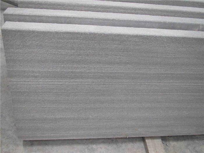 Grey Teakwood Honed Sandstone Brushed Stone Tile