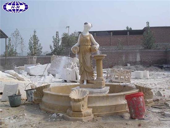 Stone Water Fountain Outdoor.Marble Garden Water Fountain Outdoor Stone Fountain