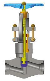 API 602锻钢截止阀,P.S.B,变径或全径