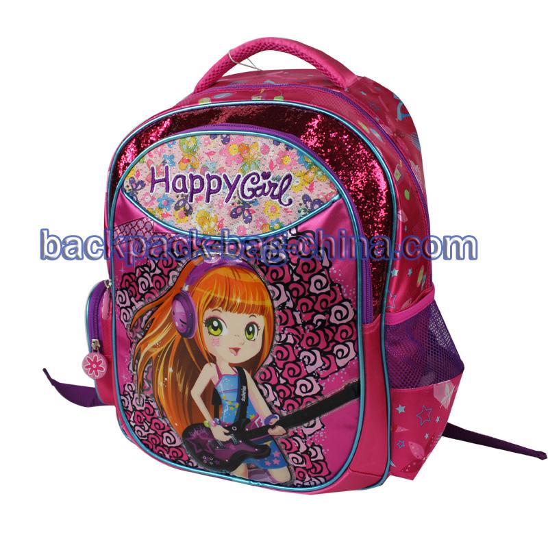 Pink Girl School Backpacks
