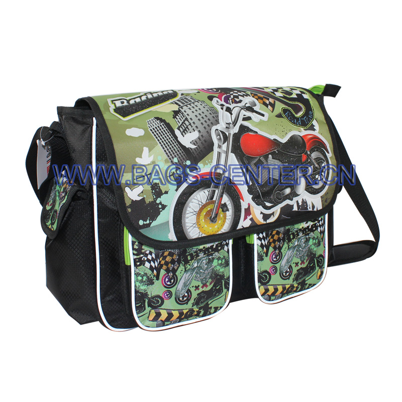 Motobike Design School Satchels ST-15TR07SB