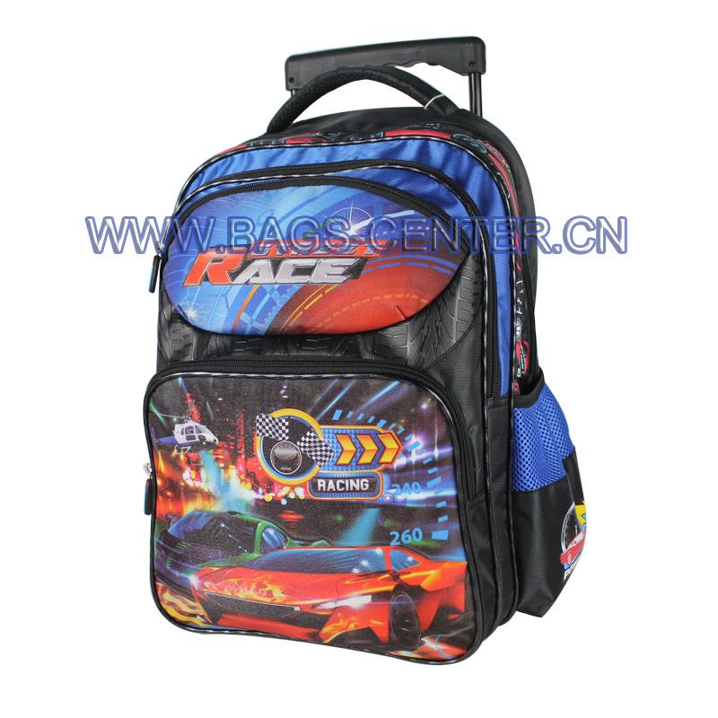Children Hand Trolley School Bag ST-15SR04TR