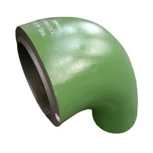 90 Градусное Колено, 12Cr1MoVG, Зелёное Покрытие