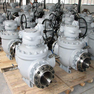 Самоочищающийся шаровой клапан, ASTM A216 WCB, PN50, DN250