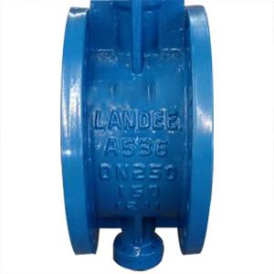 Клапан бабочка из ковкого чугуна ASTM A536, PN20, DN250