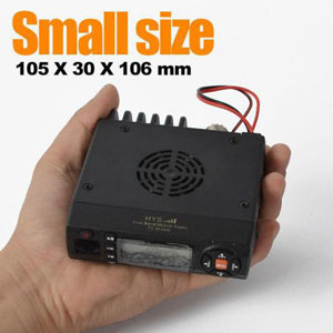 Mini Dual Band Mobile Radio, Vehicle Mouted TC-M10W