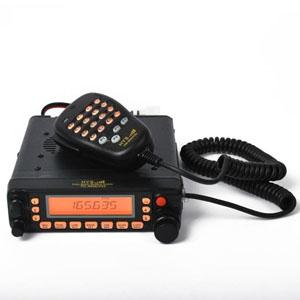 Dual Band Mobile Vehicle Radio, Large Screen TC-MAUV33
