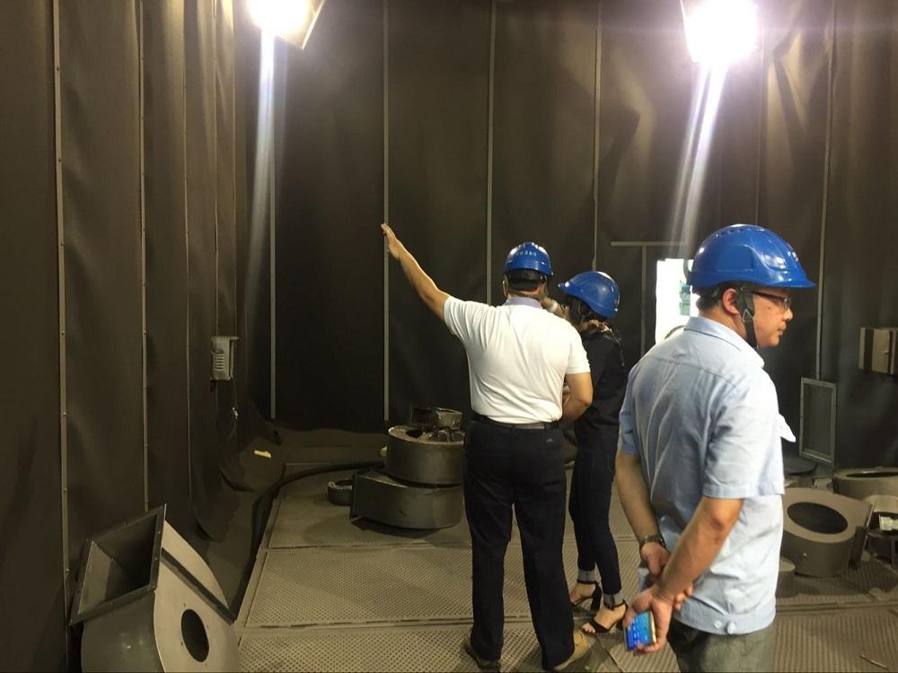 JX Abrasives Blasting Room Setting Case