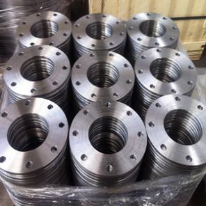 EN1092-1 Type 01 Plate Flange, ASTM A105, DN150, PN16