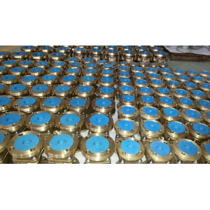 ASTM B148 UNS C95800 Ball Valve, DN50, PN20, PTFE Seal, BS 5351