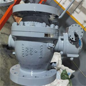 ASTM A216 WCB Ball Valves, 6 Inch, Class 300, API 6D, RF