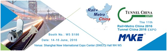 The 11th Rail+Metro China 2016, Make Locks
