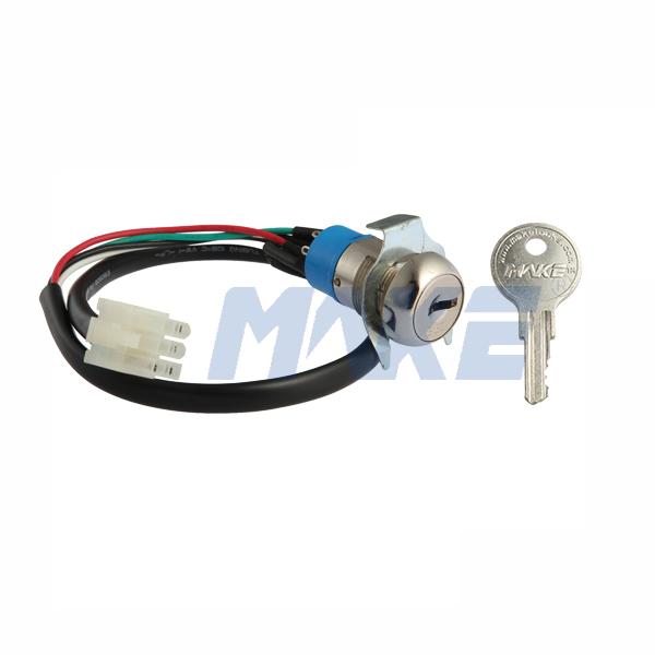 Zinc Alloy Key Switch Lock MK104-5