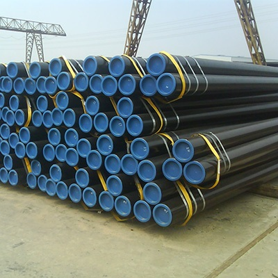 DIN2391 ST52 Carbon Steel SMLS Tube 4 Inch SCH40S Vanish Oil