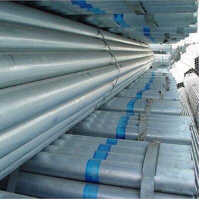 A106 Gr. B Galvanized Seamless Pipe, 3 Inch, 6M, SCH 40