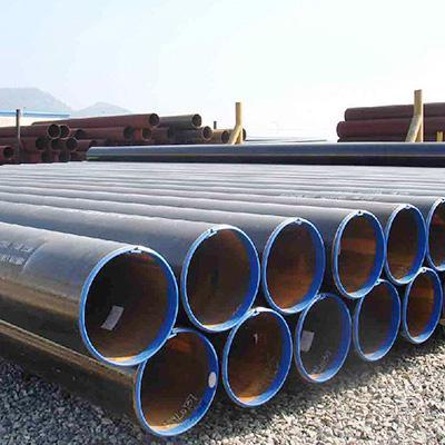 ASME B36.10 Carbon ERW Pipe ASTM A53 14 Inch Sch40
