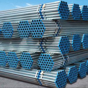 A53 Gr.B Galvanized Seamless Pipe, 1/2 Inch, SCH 10, 6M
