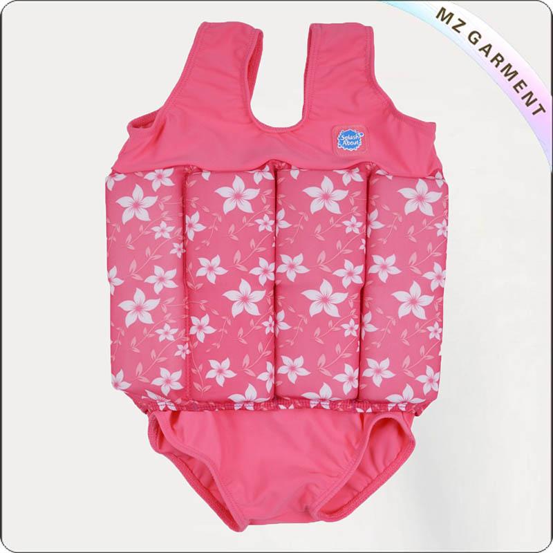 Girls' Adjustable Floating Swimwear