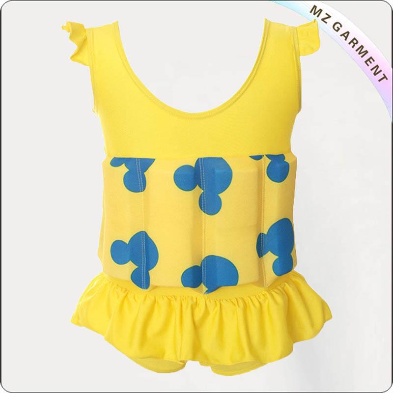 Micky Yellow Floating Swimwear