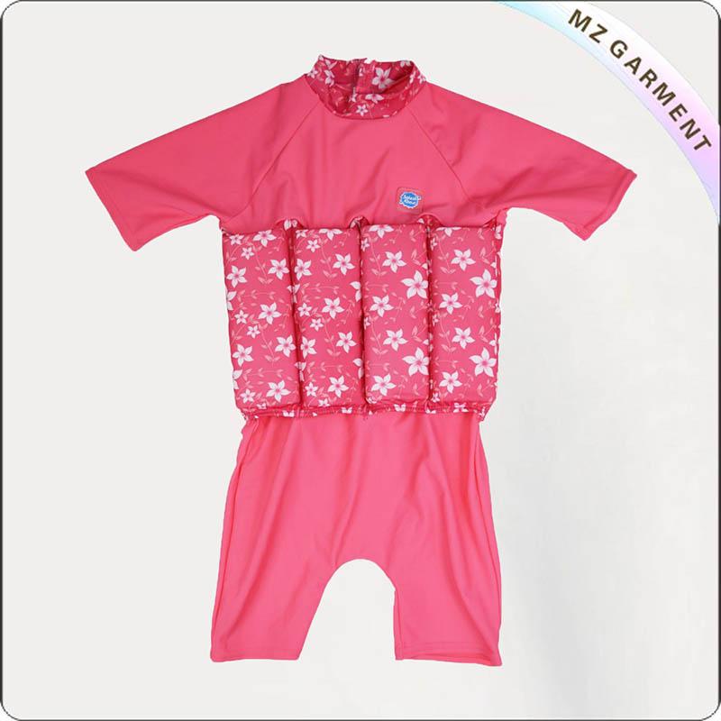 Pink UV Floating Swimwear