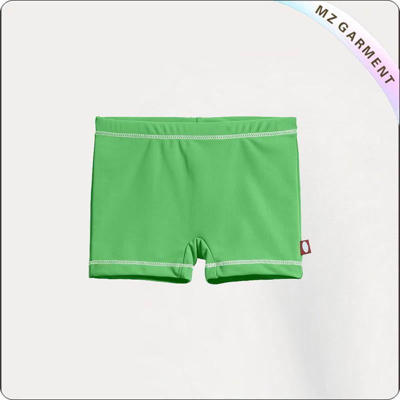 Green UPF50+ Girl Swimming Bottom