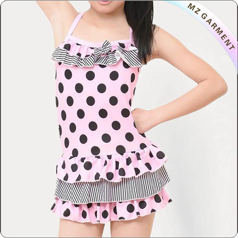 Cute Dot Swimming Dress