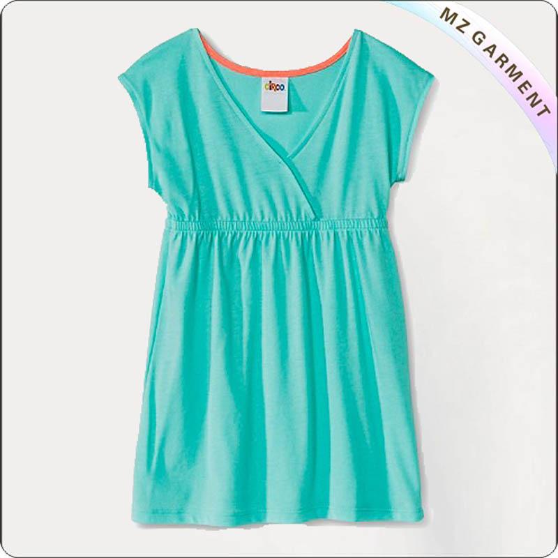 Hot Wire Aqua Cover Up Dress