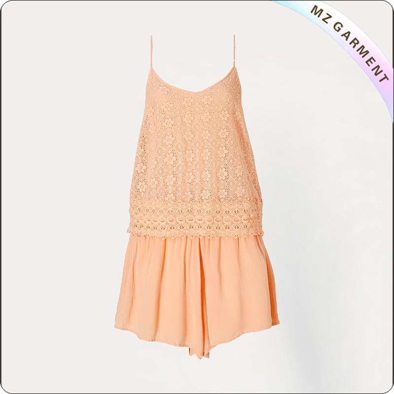 Orange Snapsuit