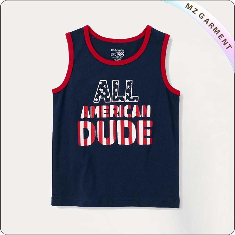 American Boys Singlet
