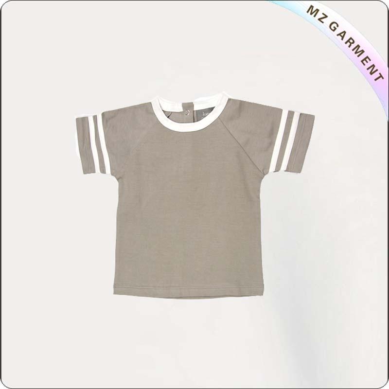 Kids Short Sleeve Cowboy Tee Shirt