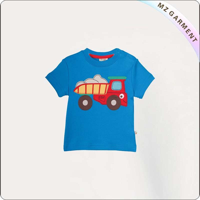 Kids Truck Printed Tee Shirt