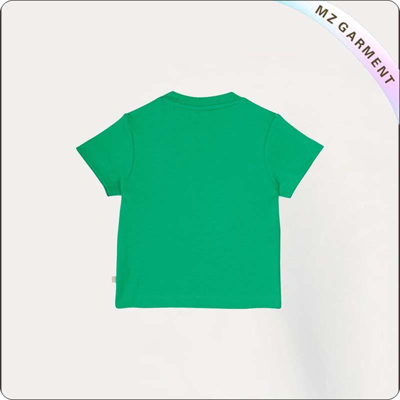 Kids Wheels Short Sleeve Tee Shirt