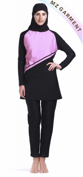 Islamic Swimsuit with Custom Design for Muslim Women