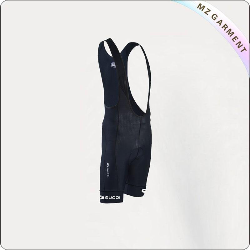 Black & White Jersey Shorts Cycling Wear