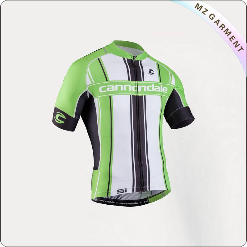 Green & White Short Sleeve Jersey