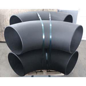 ГОСТ 17375-2001 чёрное колено трубы под 45 градусов, DN 600 мм, 9,53 мм
